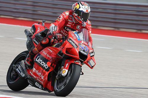 MotoGP, Austin, Libere 3: Miller fa la differenza sulle buche