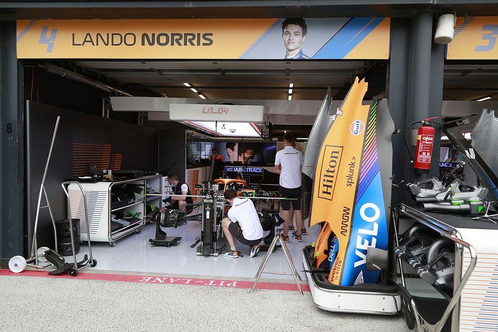 McLaren: Motorblok Norris na crash Spa weer te gebruiken