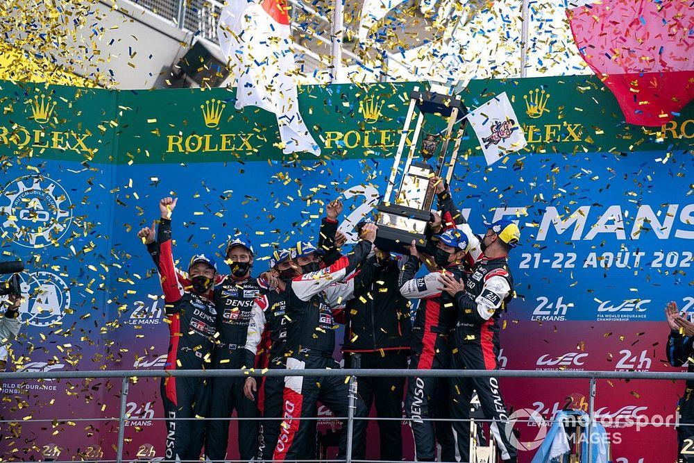 """Poker Toyota a Le Mans, spazzati i dubbi: """"Ma che sofferenza"""""""