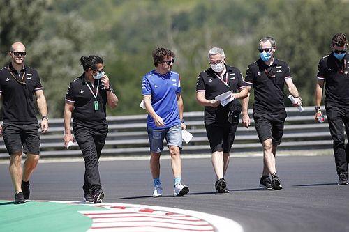 """Alonso: """"Si queremos sumar puntos, será más difícil en Hungría"""""""