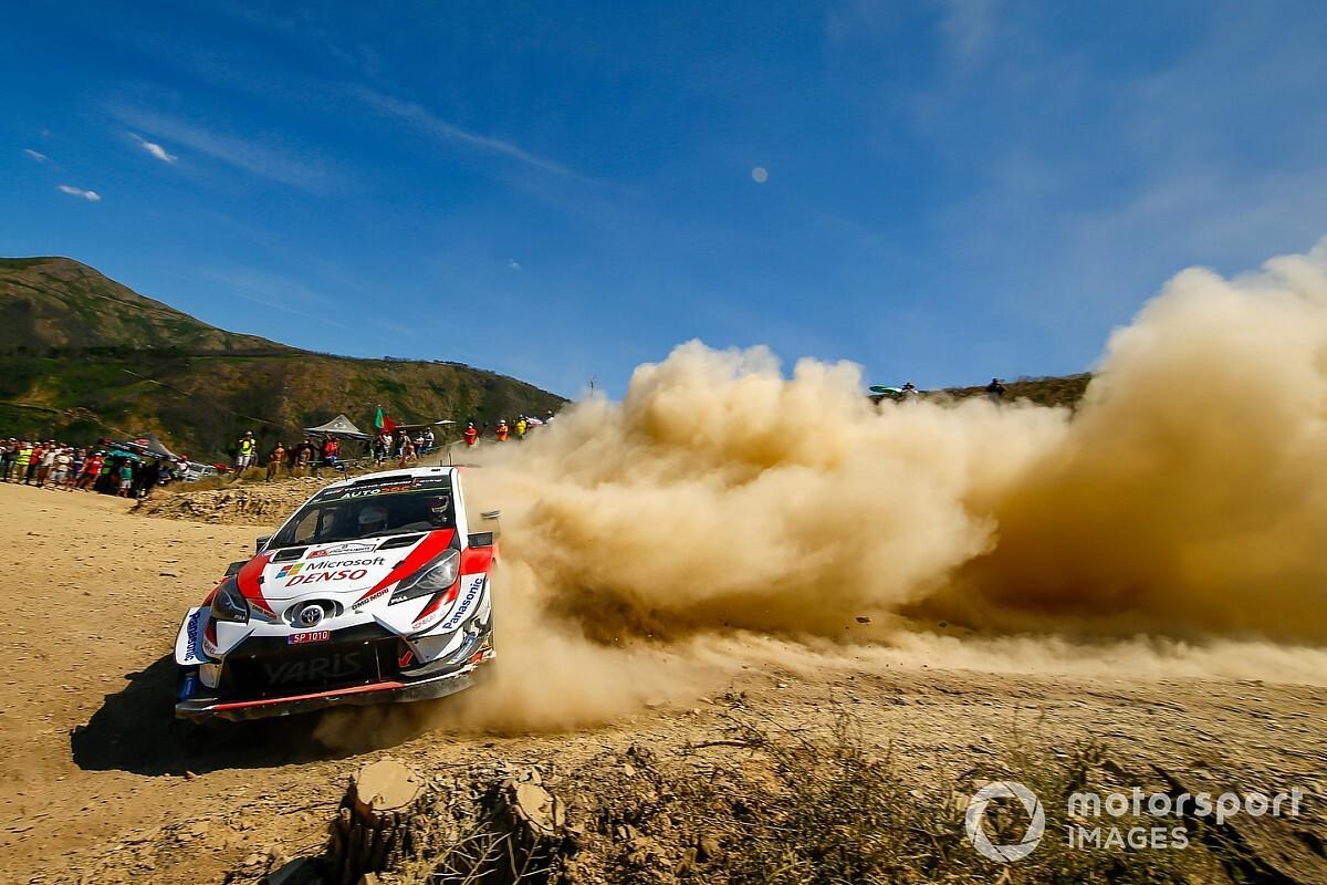 Portugal WRC: Tanak on verge of victory as Meeke spins