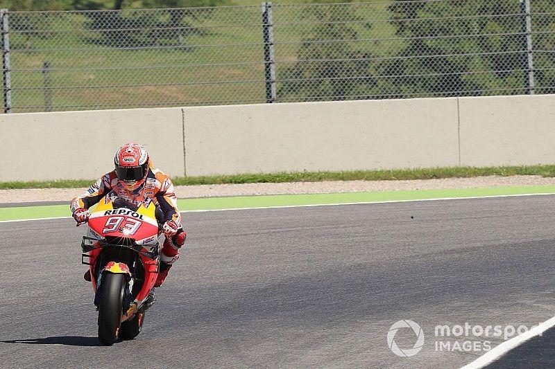 Warm-up - Márquez continue de dominer, les Suzuki se montrent