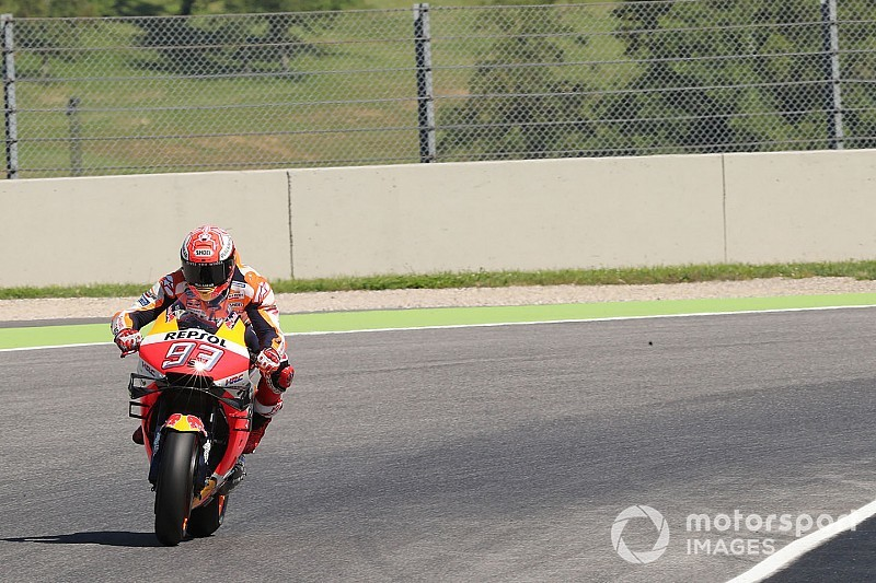 Mugello MotoGP: Marquez leads Mir in warm-up