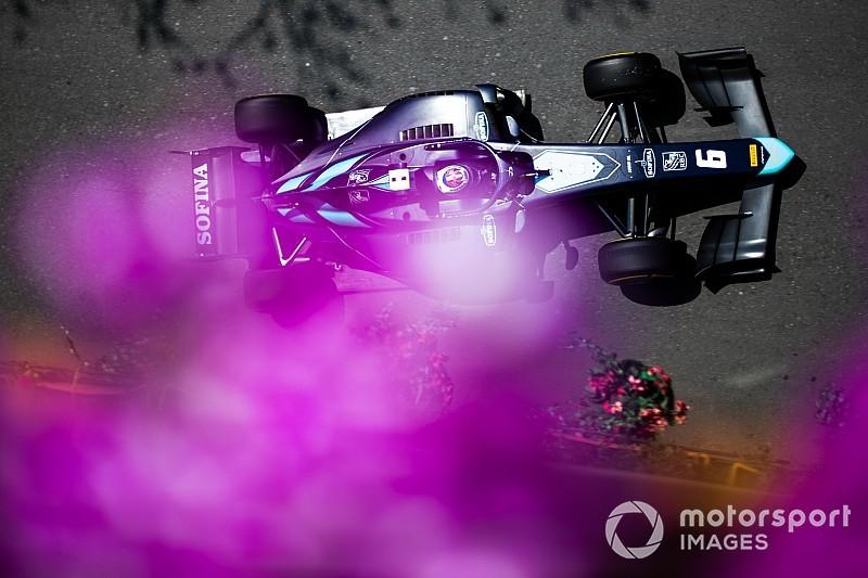 F2: Latifi si prende il successo a Baku in una Sprint Race condizionata da mille interruzioni