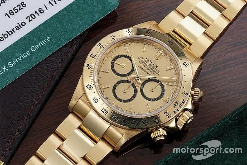 Rolex dado por Senna vai a leilão custando a partir de R$ 400 mil