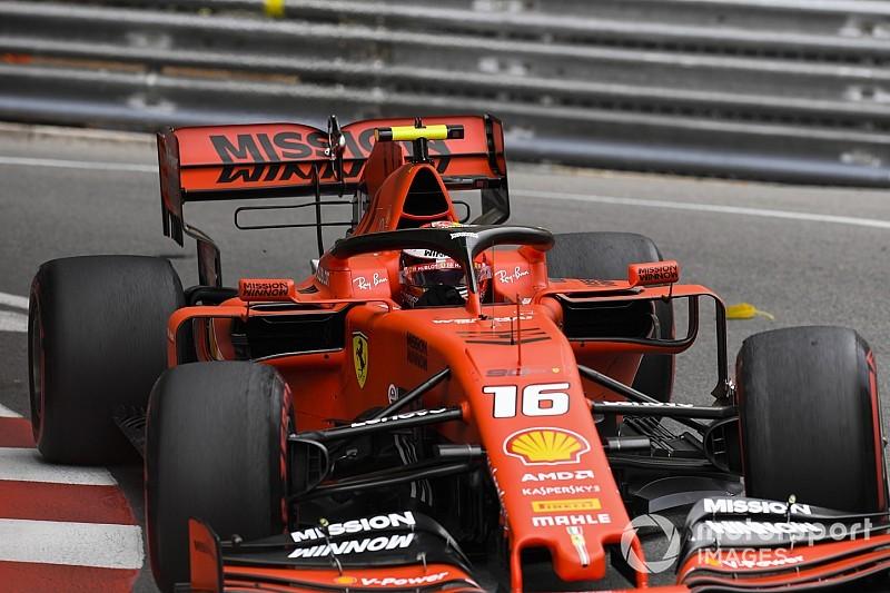 Ferrari: solo una reprimenda per Leclerc per non aver rispettato la VSC