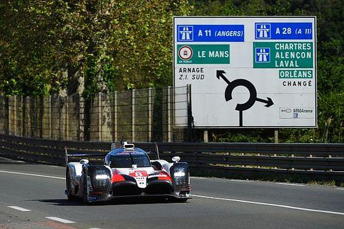 Buemi en Toyota bovenaan na testdag 24 uur van Le Mans