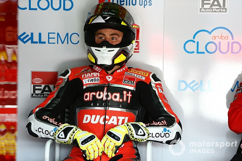 Bautista was hampered by fractured vertebra at Imola