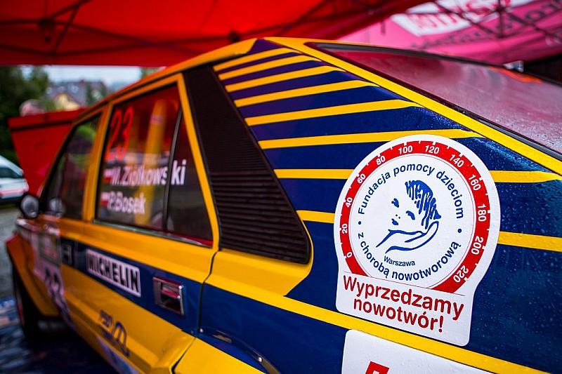 """Kampania """"Wyprzedzamy nowotwór"""" w 76. Rajdzie Polski"""