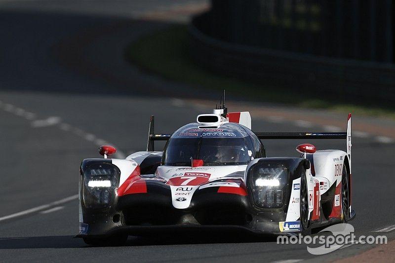 Toyota copa la primera fila en la segunda clasificación de Le Mans