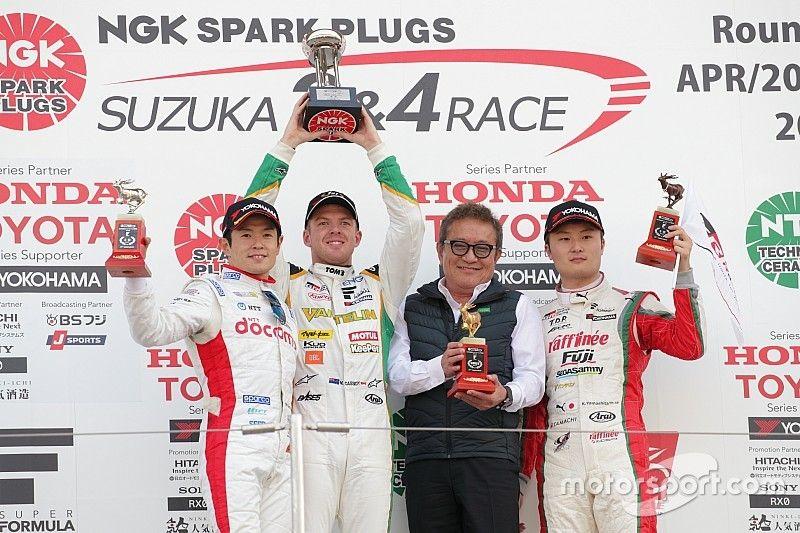 Suzuka Super Formula: Cassidy wins dramatic opener from 12th