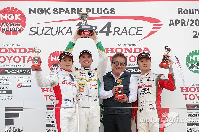スーパーフォーミュラ鈴鹿決勝|ニック・キャシディが優勝。決勝レースはセーフティカー4回の荒れた展開