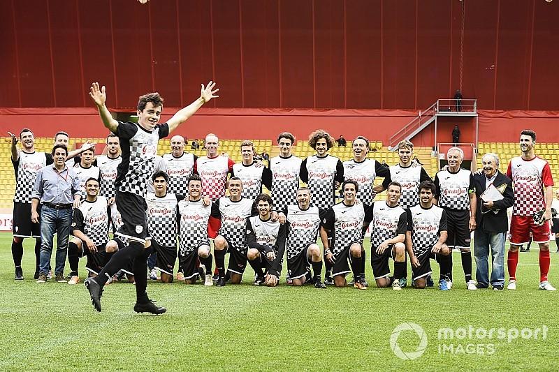 GALERÍA: Futbol y F1 en Mónaco