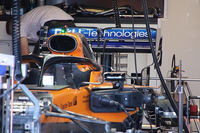McLaren: copiati sulla MCL34 i supporti degli specchietti Mercedes