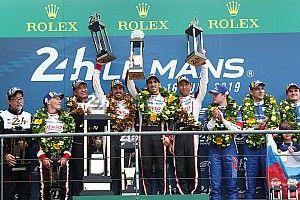 勒芒24小时:丰田导演戏剧性前二完赛,成龙DC车队登上领奖台