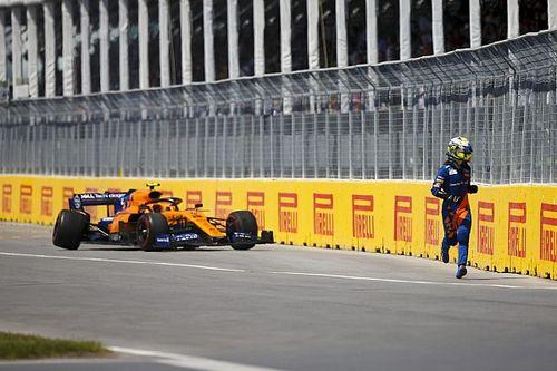 «Повезло, что все не закончилось хуже». McLaren не смогла объяснить поломку Норриса