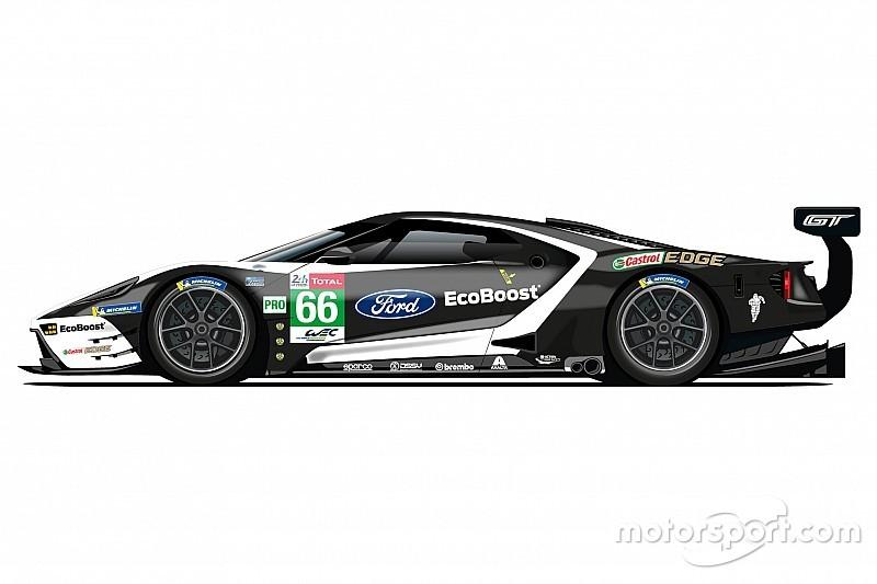 Ford dévoile des livrées rétro pour les 24 Heures du Mans