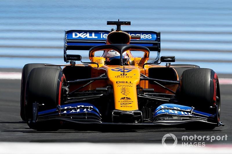 """Sainz: """"Végre tisztán a McLaren a negyedik erő"""""""