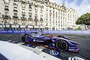 Frijns pakte eerste Formule E-zege in regenrace Parijs
