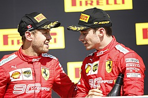 Леклер визнав, що Феттель - перший пілот Ferrari