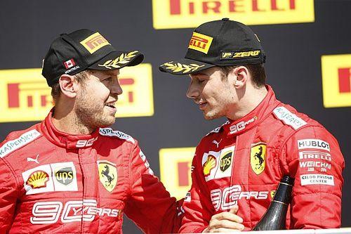 Vettel örül, hogy a számok az ő oldalán állnak