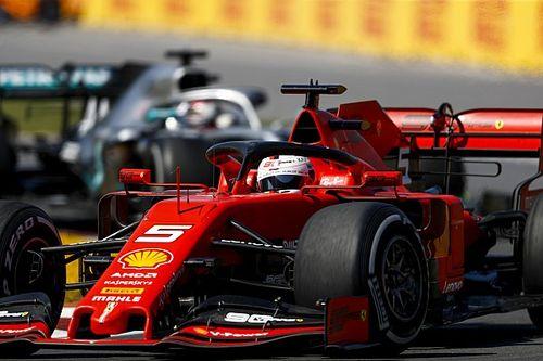 Ferrari dient geen protest in tegen tijdstraf Vettel