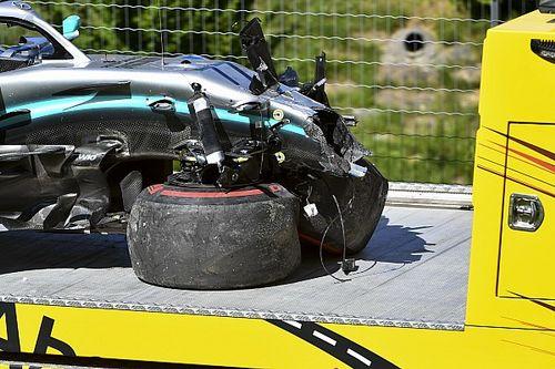 """Bottas a balesete ellenére magabiztos, jónak tartja, hogy """"büntet"""" a pálya"""