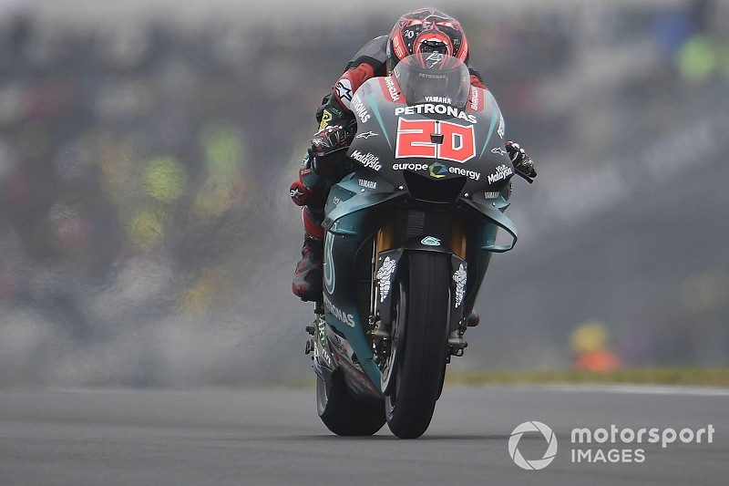 Warm-up - Quartararo annonce la couleur avant la course