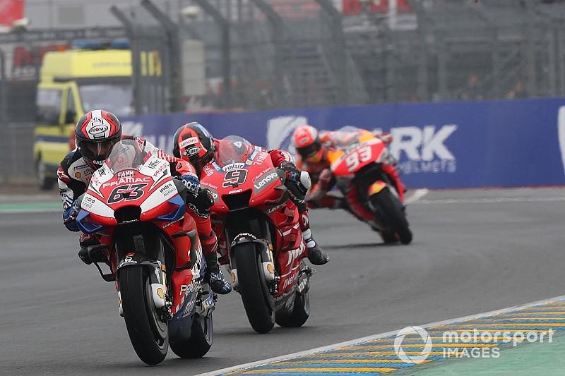 Fotogallery MotoGP: le Qualifiche bagnate del Gran Premio di Francia 2019