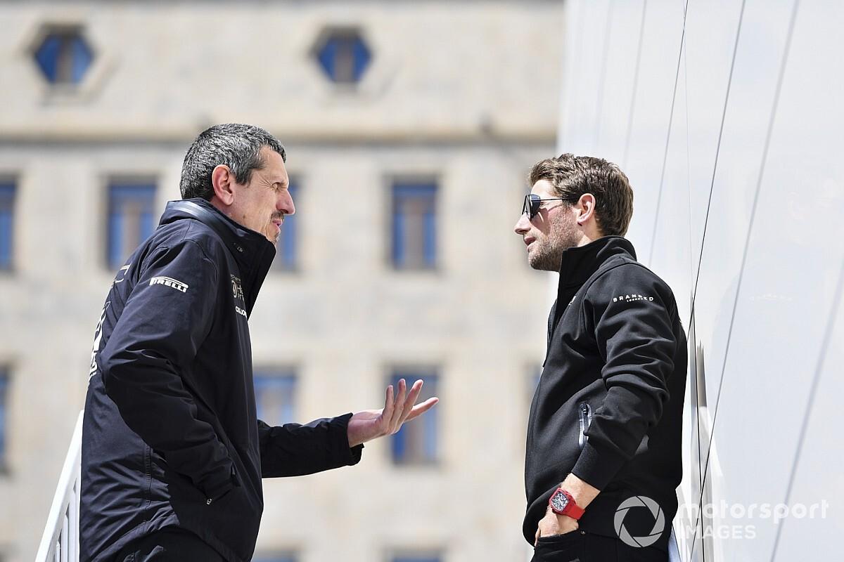 "Steiner: Grosjean ""wrong"" to talk Haas F1 future on its behalf"