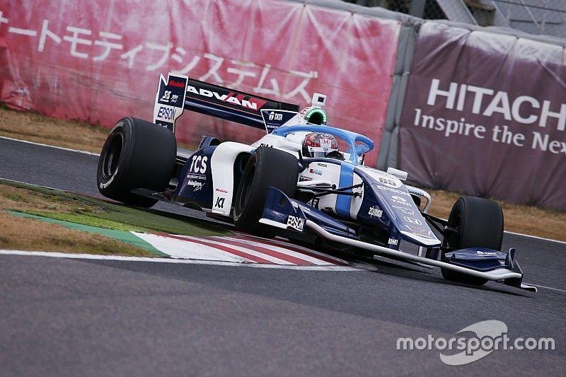 Makino en pole para el inicio de la Super Fórmula