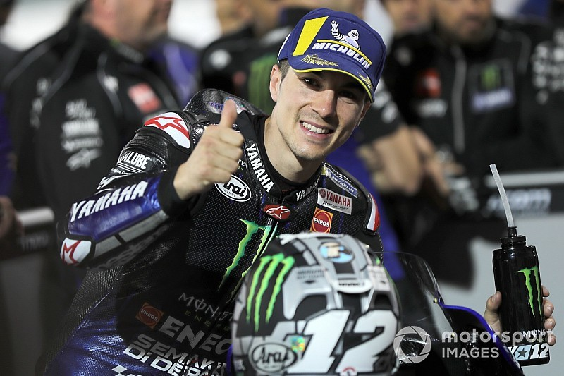 Qatar MotoGP: Vinales on pole, Rossi down in 14th