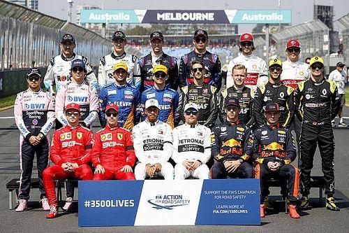 ¿Cuál es la edad promedio de la parrilla 2020 de la F1?