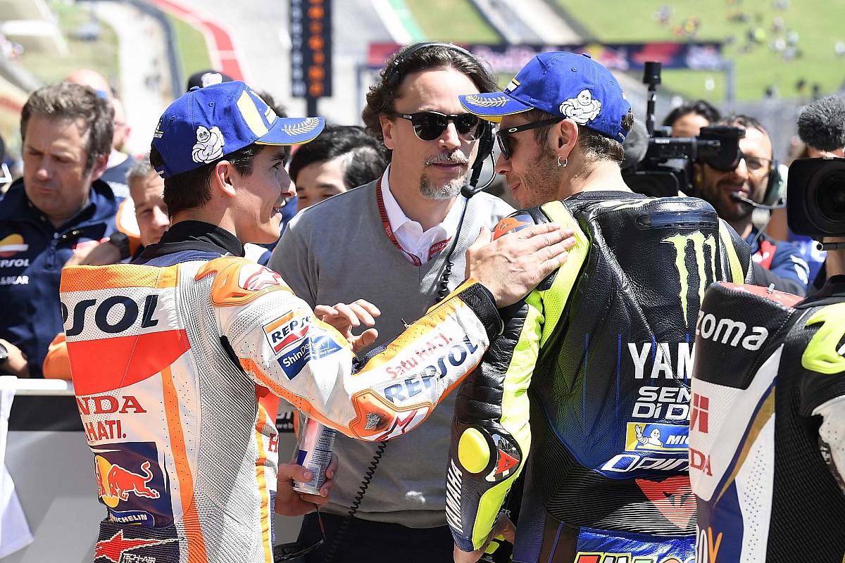 Márquez, a una pole de alcanzar la marca de Rossi en MotoGP