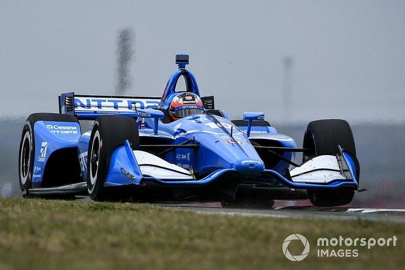 Rosenqvist lidera la primera práctica en Alabama