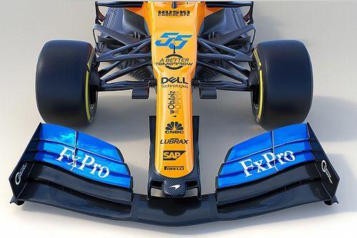 Compare novo carro da McLaren com modelo de 2018