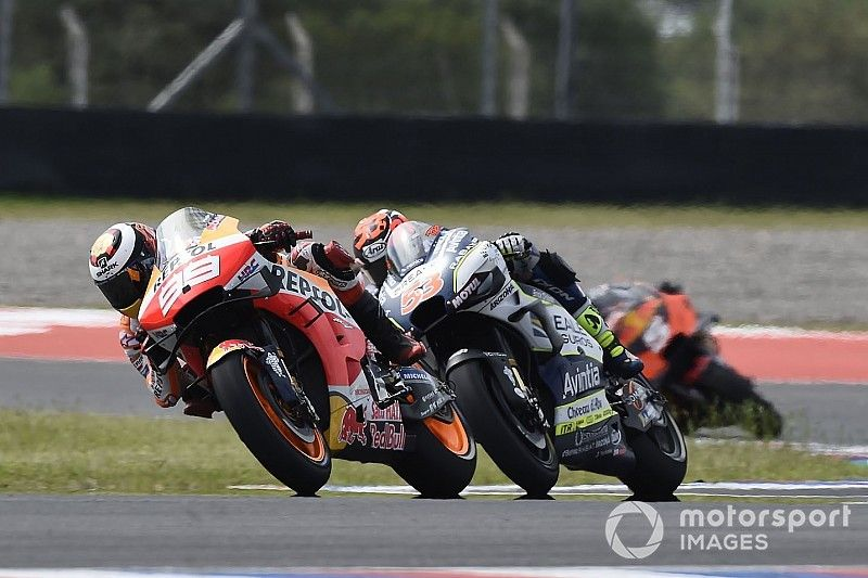Lorenzo engaged pit limiter at start of Argentina race