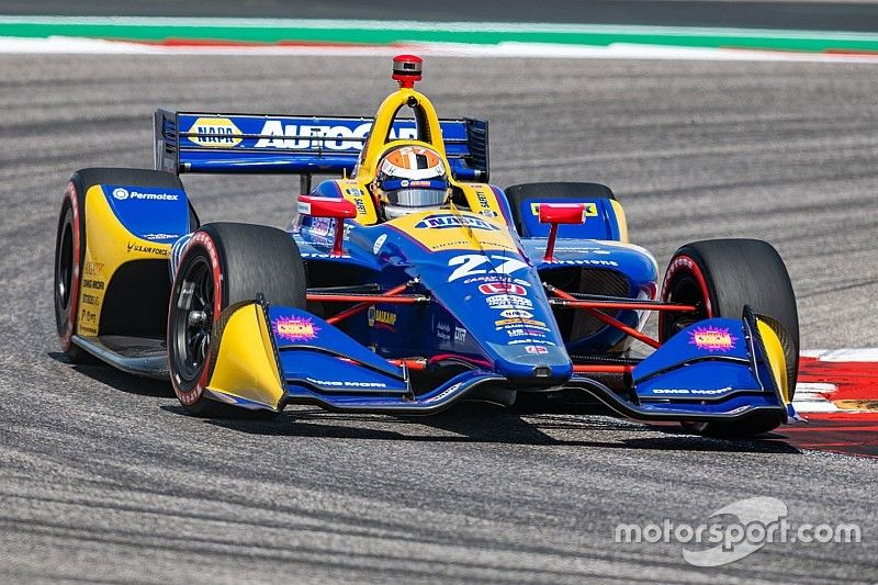 COTA IndyCar: Rossi leads FP3 as Ericsson crashes