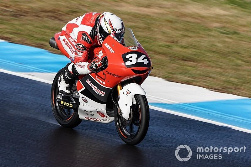CEV Moto3 Estoril: Debut apik Mario Suryo Aji