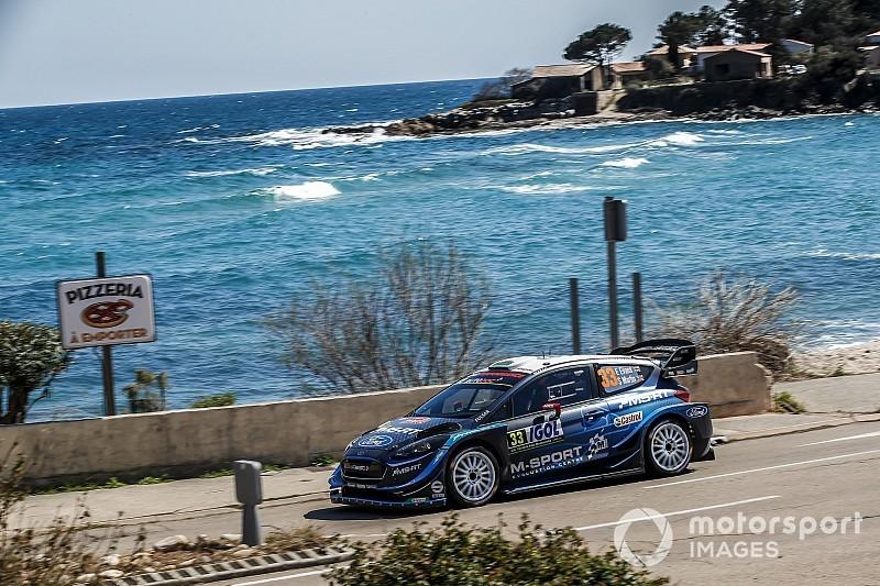 WRC Corsica, PS10: Evans risponde a Tanak. Meeke vince la stage