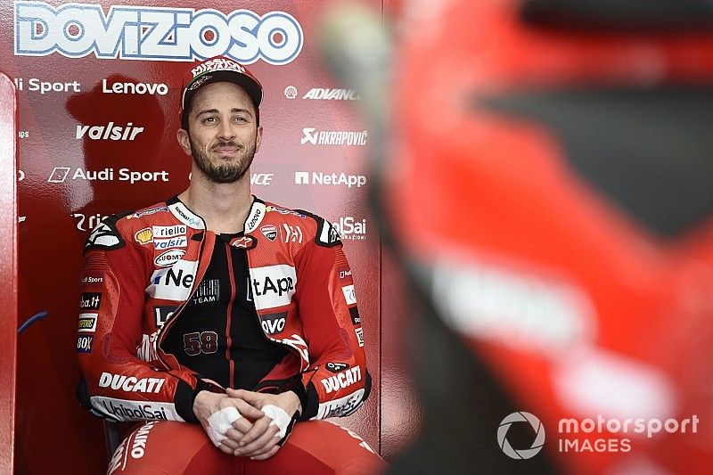 """Dovizioso : La domination de Ducati en essais? """"Pas la réalité"""""""