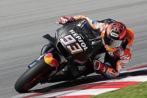 Tes MotoGP Sepang: Meski cedera, Marquez tercepat