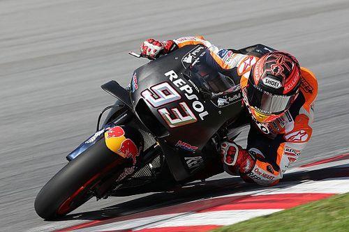 Маркес стал быстрейшим в первый день тестов MotoGP, несмотря на травму