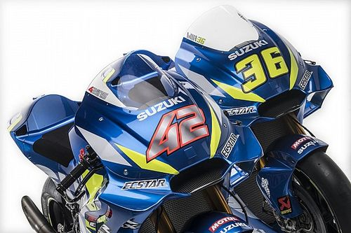 Gallery: Suzuki's 2019 MotoGP livery from all angles
