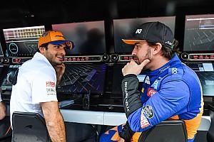 "Sainz: ""Soy un gran admirador de Alonso, pero trato de seguir mi propio camino"""