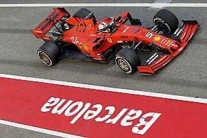 A Ferrari már az első F1-es tesztnapon 787 kilométert tesztelt