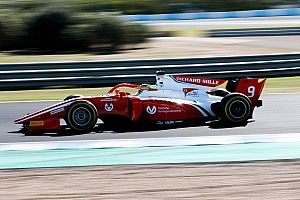 F2-test Jerez: Schumacher sluit als snelste man af, De Vries P5 op slotdag