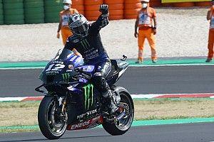 MotoGP in Misano 2: Bagnaia wirft Sieg weg, Vinales triumphiert
