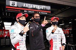スーパーGT第5戦富士|8号車ARTA NSX-GTが今季2度目のポールを獲得