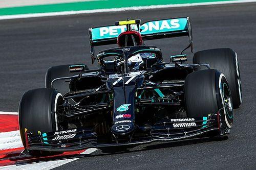 葡萄牙大奖赛FP1:博塔斯领先汉密尔顿位居第一